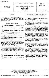 Maszyny i urządzenia górnicze - Ładowarki - Wymagania BN-84/1705-33