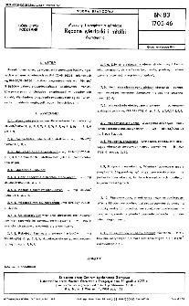 Maszyny i urządzenia górnicze - Ręczne wiertarki i młotki - Wymagania BN-83/1705-46