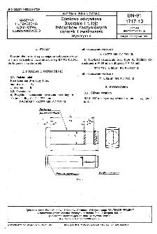 Górnictwo odkrywkowe - Sworznie i tuleje łańcuchów naczyniowych koparek i zwałowarek - Wymagania BN-91/1717-10
