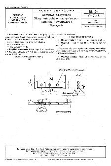 Górnictwo odkrywkowe - Ślizgi łańcuchów naczyniowych koparek i zwałowarek - Wymagania BN-91/1717-15