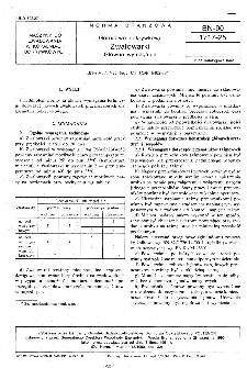 Górnictwo odkrywkowe - Zwałowarki - Główne wymagania BN-90/1717-25
