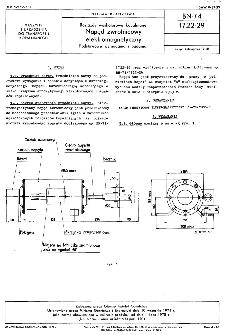 Rozjazdy wąskotorowe kopalniane - Napęd zwrotnicowy elektromagnetyczny - Podstawowe wymagania i badania BN-74/1722-29