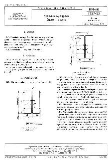 Naczynia wyciągowe - Drzwi piętra BN-86/1727-02
