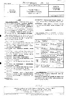 Naczynia wyciągowe - Prowadnice toczne - Wymagania i badania BN-74/1727-18
