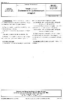 Naczynia wyciągowe - Zawieszenia lin wyrównawczych okrągłych BN-82/1727-29