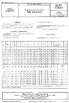 Wciągniki górnicze łańcuchowe - Haki jednorożne BN-83/1728-04
