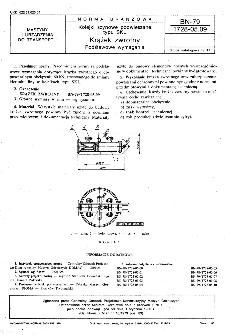 Kolejki szynowe podwieszane typu SKL - Krążek zwrotny - Podstawowe wymagania BN-79/1728-05.09