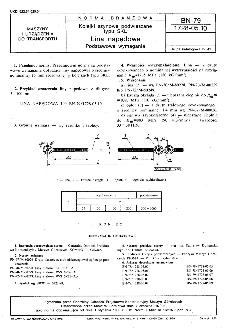 Kolejki szynowe podwieszane typu SKL - Lina napędowa - Podstawowe wymagania BN-79/1728-05.10