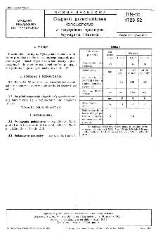 Ciągarki grzechotkowe łańcuchowe z napędem ręcznym - Wymagania i badania BN-85/1728-52