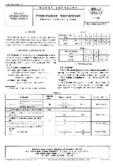 Przesiewacze rezonansowe - Elementy elastyczne gumowe BN-87/1751-17