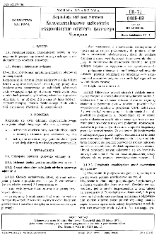 Eksploatacja złóż gazu ziemnego - Napowierzchniowe uzbrojenie eksploatacyjne odwiertu gazowego - Wymagania BN-72/0486-03 / Instytut Naftowy.