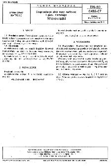 Eksploatacja złóż ropy naftowej i gazu ziemnego - Wielokrążki BN-80/0486-07