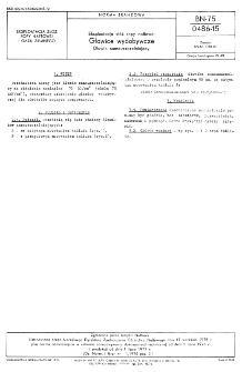 Eksploatacja złóż ropy naftowej - Głowice wydobywcze - Dławik samouszczelniający BN-75/0486-15