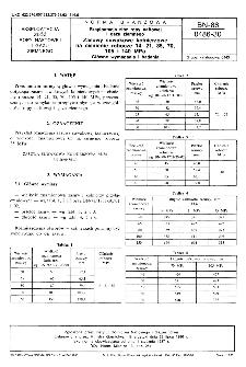 Eksploatacja złóż ropy naftowej i gazu ziemnego - Zasuwy suwakowe kołnierzowe na ciśnienie robocze 14, 21, 35, 70, 105 i 140 MPa - Główne wymagania i badania BN-86/0486-30