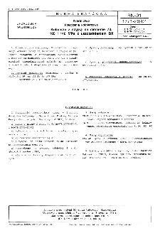 Wiertnictwo - Połączenia kołnierzowe - Kołnierze z szyjką na ciśnienie 70, 105 i 140 MPa z uszczelnieniem BX BN-91/1771-20/04