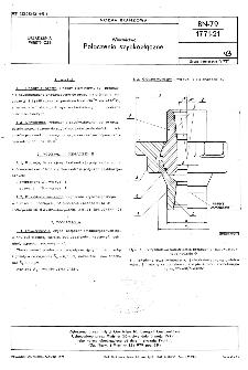 Wiertnictwo - Połączenia szybkozłączne BN-79/1771-21