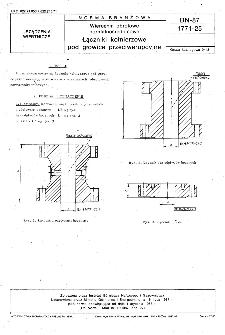 Wiercenia obrotowe normalnośrednicowe - Łączniki kołnierzowe pod głowice przeciwerupcyjne BN-87/1771-25
