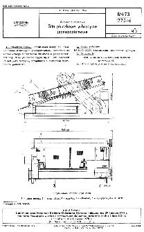 Wiercemia obrotowe - Sita płuczkowe wibracyjne jednopoziomowe BN-73/1775-16