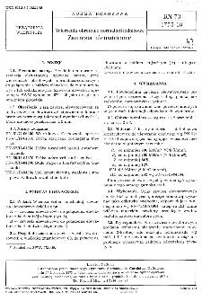 Wiercemia obrotowe normalnośrednicowe - Zawiesia elewatorowe BN-73/1775-18
