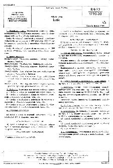 Wiertnictwo - Łyżki BN-72/1792-02