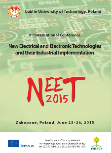 9th International Conference New Electrical and Electronic Technologies and their Industrial Implementation NEET'2015, Zakopane, Poland, June 23–26, 2015