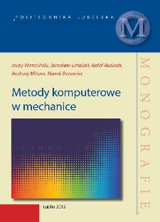 Metody komputerowe w mechanice