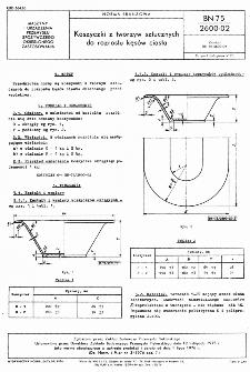 Koszyczki z tworzyw sztucznych do rozrostu kęsów ciasta BN-75/2600-02