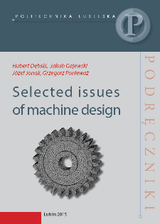 Selected issues of machine design