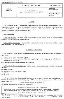 Szkło budowlane - Szyby bezpieczne hartowane płaskie BN-79/6821-03