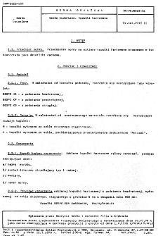 Szkło budowlane - Kopułki hartowane BN-76/6825-01