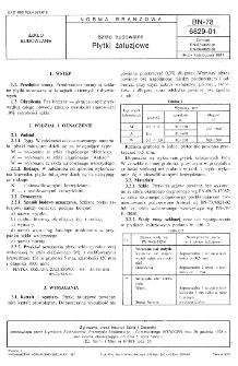 Szkło budowlane - Płytki żaluzjowe BN-78/6829-01