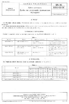 Szkło techniczne - Szkło na przyrządy pomiarowe - Wymagania BN-86/6850-06/06