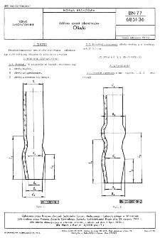 Szklany sprzęt laboratoryjny - Oliwki BN-77/6851-36