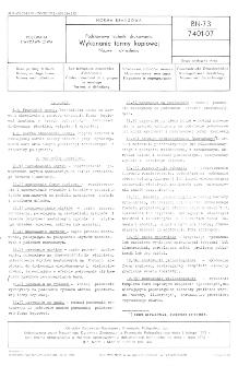 Podstawowe techniki drukowania - Wykonanie formy kopiowej - Nazwy i określenia - BN-73/7401-07