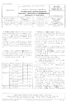 Negatywy i diapozytywy poligraficzne - Charakterystyka użytkowo-jakościowa negatywów i diapozytywów chemigraficznych i offsetowych do kopiowania BN-80/7431-02.12