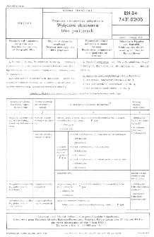 Negatywy i diapozytywy poligraficzne - Wytyczne stosowania błon graficznych BN-84/7431-02/05