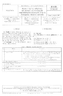 Kopie i formy offsetowe na płytach aluminiowych niepresensybilizowanych (Typ I) - Wymagania i badania kontrolne BN-89/7435-03