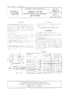 Ogniwa złączne do łańcuchów ogniwowych górniczych BN-90/1709-02