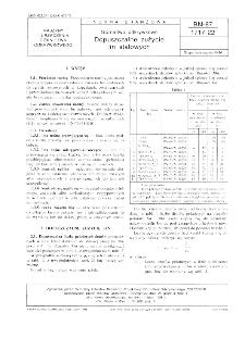 Górnictwo odkrywkowe - Dopuszczalne zużycie lin stalowych BN-87/1717-22