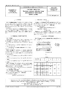 Górnictwo odkrywkowe - Pontony stalowe członów trasy przenośników taśmowych - Główne wymiary BN-80/1726-17