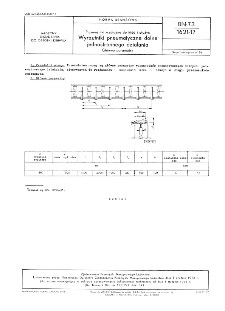 Kopalniane przenośniki zgrzebłowe trzyłańcuchowe - Zamki środkowe dzielone - Podstawowe parametry BN-73/ 1727-17