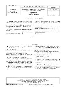 Kopalniane przenośniki zgrzebłowe dwu- i trzyłańcuchowe - Zgrzebła - Główne wymiary BN-90/1727-23