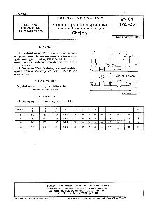 Kopalniane przenośniki zgrzebłowe z pasmami łańcucha w osi rynny - Obejmy BN-91/1727-33