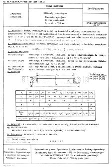 Elementy rurociągów - Końcówki wywijane do rur stalowych dz = 20 ÷ 159 mm BN-63/2216-03