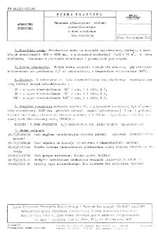 Naczynia cylindryczne stalowe niskociśnieniowe z dnem stożkowym bez wyoblenia BN-64/2221-07