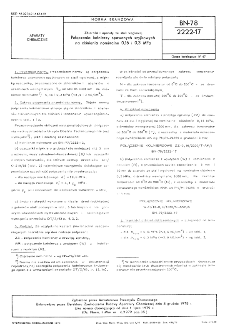 Zbiorniki i aparaty ze stali węglowej - Połączenia kołnierzy spawanych szyjkowych na ciśnienia nominalne 0,16 i 0,3 MPa BN-78/2222-17