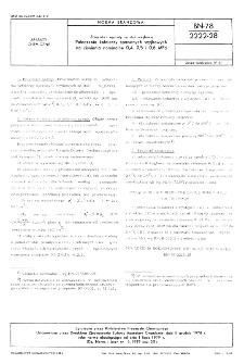 Zbiorniki i aparaty ze stali węglowej - Połączenia kołnierzy spawanych szyjkowych na ciśnienia nominalne 0,4, 0,5 i 0,6 MPa BN-78/2222-28