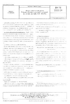 Zbiorniki i aparaty ze stali węglowej - Połączenia kołnierzy spawanych szyjkowych na ciśnienia nominalne 0,8 i 1,0 MPa BN-78/2222-29