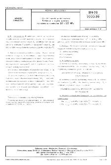 Zbiorniki i aparaty ze stali węglowej - Kołnierze z szyjką spawane na ciśnienia nominalne 2,0 i 2,5 MPa BN-78/2222-39