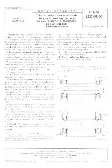 Zbiorniki i aparaty odporne na korozję - Połączenia kołnierzy płaskich ze stali węglowej z nakładkami ze stali stopowej - Postanowienia ogólne BN-84/2222-58/00